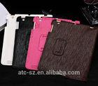 leather smart case for iPad 2 3 4 ipad2 ipad3 ipad4 folio protective cover