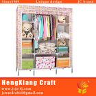 Home Furnishing Folding Wardrobe Fabric Clothes Storage Closet