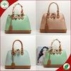 2014 Fashion Studs Lady Bags Long Tag Ostrich Leather Women Handbags 169
