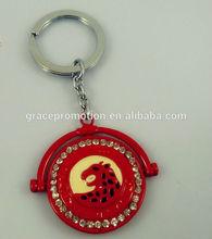 Novel design keychain free samples for promotional gift