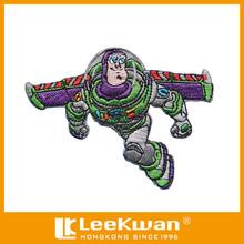 Modificado para requisitos particulares Buzz Lightyear figura bordado del Applique del remiendo