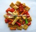 Entièrement automatique continue friteuse pour puces. Croustilles, Arachide, Noix et collation alimentaire