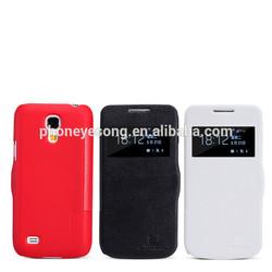 for samsung galaxy s4 mini flip leather case