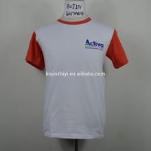 2 color OEM wholesale t shirts cheap t shirts in bulk plain