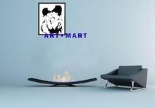 Banksy Art Kissing Coppers,Fashion Mylar Framed Poster AMM403