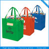 Cheap printed resuable foldable non woven shopping bag