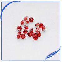 cheap korean dmc hot fix pointed acrylic chaton rhinestone