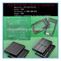 Pvc/pet/ps/pe/pp embalagem blister termoformagem a vácuo plástico envoltório alinhado