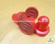 Plastic handle rubber stamp for election /Custom election fingerprint stamp