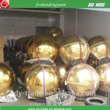 Best Price 1000mm Mirror Ball Gold Garden Ornament