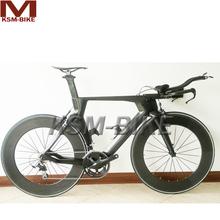 Top quality carbon fiber time trial bike frame hot sale carbon fiber TT bike