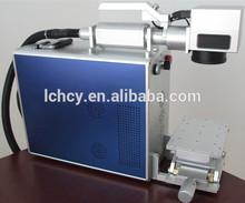 lowest price 10 watts fiber laser metal marking machine on bearings/steel pipes/components