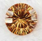 Wuzhou manufacture lab created loose cubic zirconia gemstone millennium cut gemstone cubic zirconia gemstone (BLSRD030)