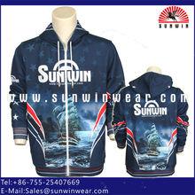 custom made sublimation fleece hoodies for men