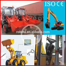 hydraulic 4 wheel drive wheel loader attachments/wheel loader china