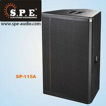 "SPE audio 15"" active speakers high end pa powered loudpeaker"