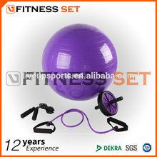 yoga gym set,fitness and yoga sets,gym ball set