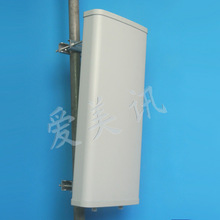 Antenna Manufacturer 698-960MHz 2x13dBi 120 Degree Dual Slant Cross Polarized MIMO Sector Wireless Antenna 5KM
