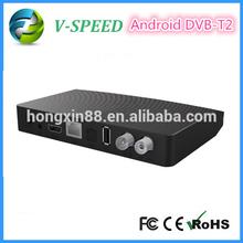 Vspeed 1080p android tv box dvb t2 dual core dvb-t2 android dvb t2 android set top tv box