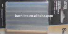 6 pieces glue sticks 11mm diameter 100mm length transparent colour hot melt gue sticks clear colour