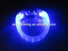 blue glow led bracelet for concerts