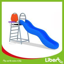 Plastic Slide Type Water Slides Swimming Pool Slides with Basketball Hoop LE.JS.155.01