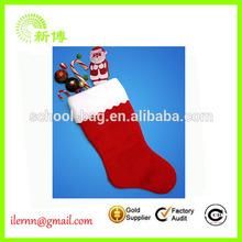 Fashion Colorful felt christmas socks for promotion
