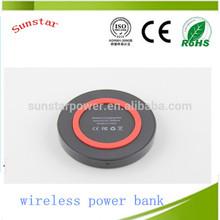Solar power bank 10000mah wireless