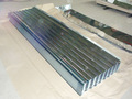 prime zinco onduladas chapas de aço galvanizado para telhados