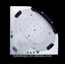 Portable Glass Window Combo Air & whirlpool hot massage bathtub, freestanding indoor Corner Bathtub MT-NR1601