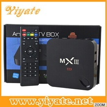 New MXIII Android TV Box Amlogic S802 Quad Core Android 4.4 XBMC 2G/8G 4K HD MX iii mx3 Support WiFi DLNA android analog tv box