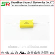 4uf CBB20 capacitor good quality free sample audio axial capacitor 405j 630v