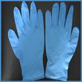 Guantes de nitrilo azul, azul de examen de nitrilo guantes m3.5g