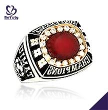 Decent new charming cz platinum diamond finger rings