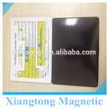 El papel magnético frigorífico magnético tabla periódica/educación imán de nevera/personalizada imanesdelrefrigerador