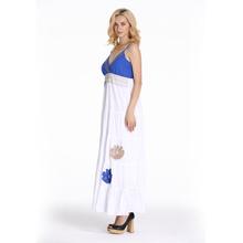 Beautiful Young Lady Fashion Beach Backless Dress
