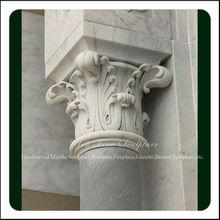 Decorative Column Granite Pillar Caps