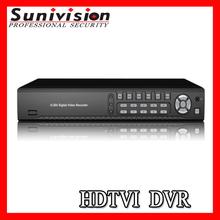 4CH H. 264 Security P2P Mobile CCTV TVI DVR