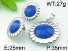 Top Selling Fashion Design Elegant Royal Blue Jewelry Set