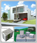 Daquan fast building excellent container house in 5 days - EPS cement sandwich wall panel