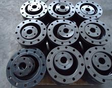 high quality carbon steel black floor flange
