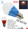 best price 2 year warranty smd2835 3w 5w 7w e27 led bulb a19 the light bulb