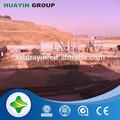 remoção de cor e odor de óleo de resíduos de destilação torre