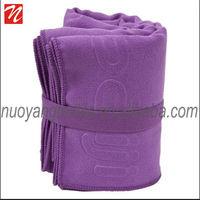 elastic plain portable Microfiber sport towel
