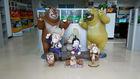 Man made fiberglass animals