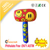 Hot sale pvc promotional inflatable hammer toy