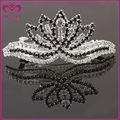 elegante cristal rainha cabelo acessórios de cabelo coroa