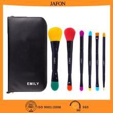 Color travel size makeup make up brush