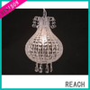 Morden High Quality Colorful Warm acrylic glass chandelier