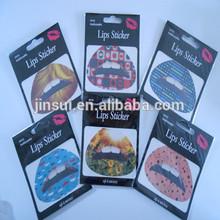 Temporary Make-up lip stickers lip tattoo sticker cosmatic lip art instant transfer sticker Halloween Christmas Party